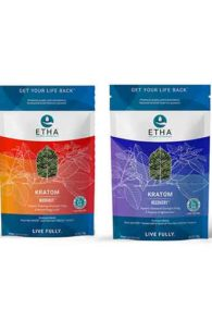 Etha Natural Botanicals Premium Fitness Kratom Bundle