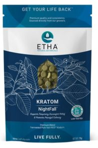 Etha Natural Botanicals Nightfall Kratom Blend