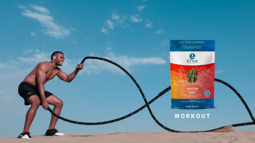 etha workout energy kratom fitness