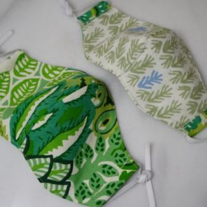 etha mask green leaf