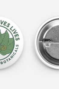 kratom saves lives button pin
