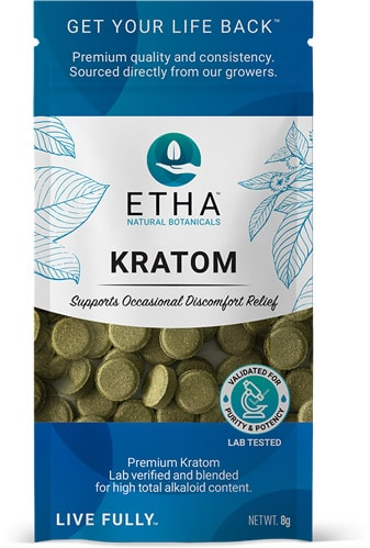 etha kratom travel pouch free sample