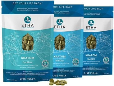 etha bundle sunrise sunset midday gold kratom