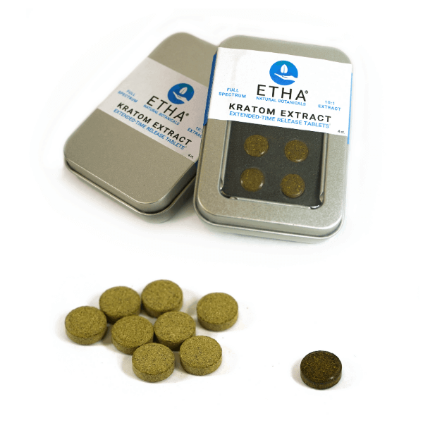 etha concentrated kratom tablets extract