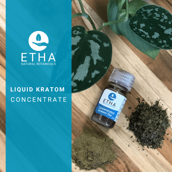 etha liquid kratom concentrate extract shots