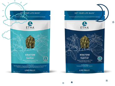etha night day kratom bundle sunrise nightfall